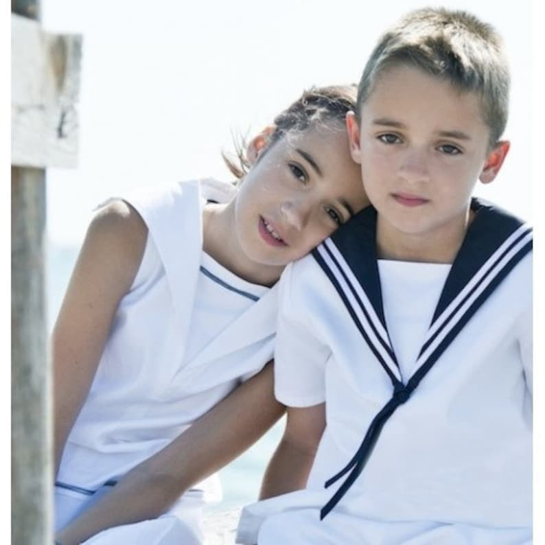 Sailor Shirt for Boys Summer Deluxe Edition image 0