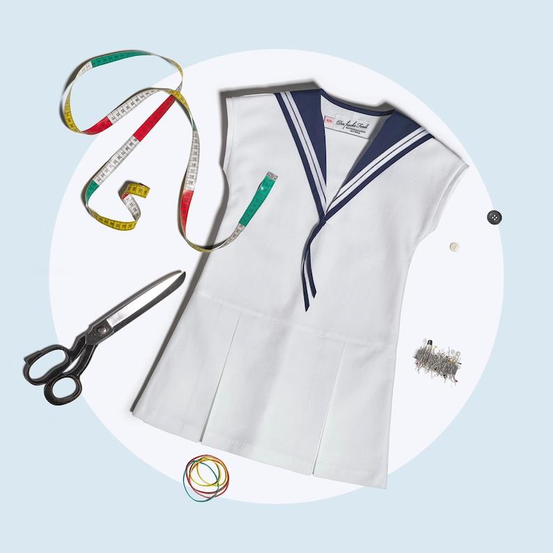 Sailor Dress LOTTE Classic School Uniform Edition image 0