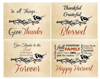 Harvest/Thanksgiving Printables