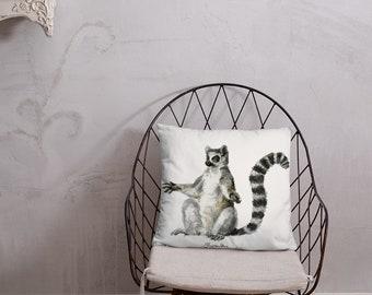 Sun Bather Lemur Pillow