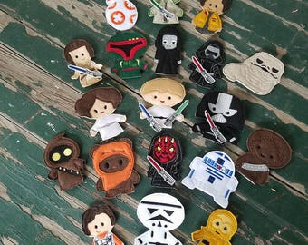 Galaxy Friends Finger Puppets - Sold Individually or as a Set