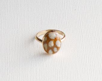 Bambi Jasper Ring