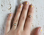 Opal Eye Ring