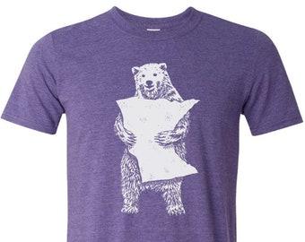 T-Shirt, MN Bear Hug Purple