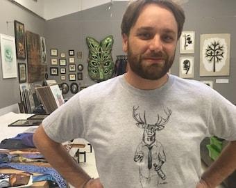 T-Shirt, Blitzen - The Reindeer