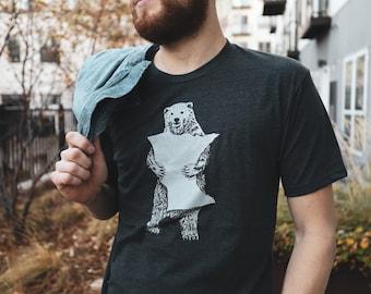 T-Shirt, MN Bear Hug Charcoal