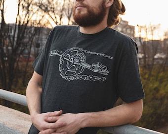 T-Shirt, Bike Chain