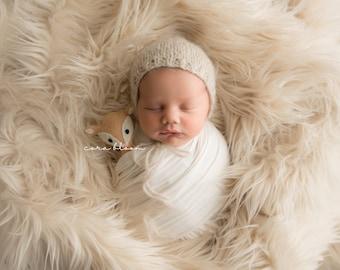 MADISON KNIT WRAP, Stretch Knit Wrap, Newborn Knit Wrap, Newborn Swaddle, Newborn Wrap, Photography Prop, Newborn Prop, Photo Prop