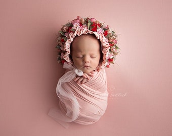 LACEY, Photography Backdrop, Pink Backdrop, Posing Fabric, Fabric Backdrop, Photography Blanket, Newborn Backdrop, Newborn Photography