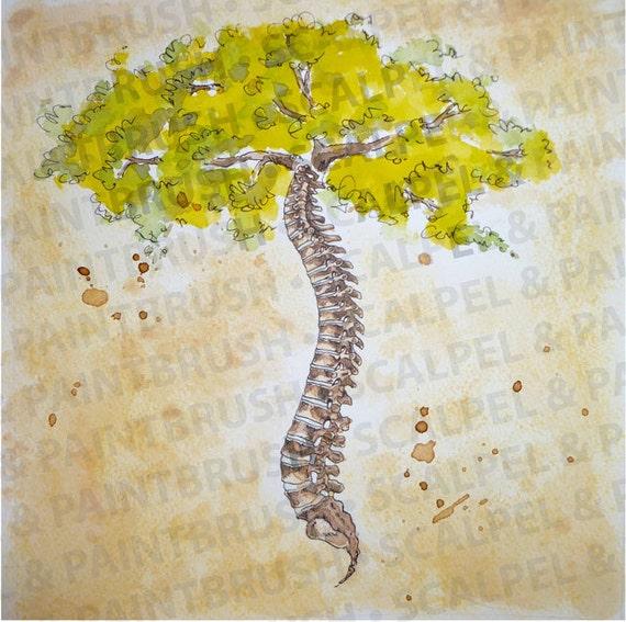 10x10 Arbor Vitae Tree Of Life Series Of 3 Etsy
