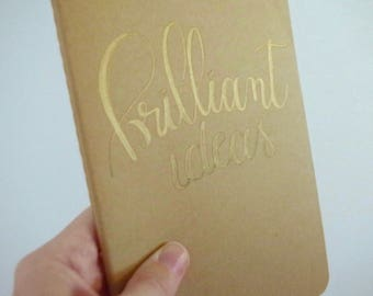 Brilliant Ideas Moleskine Notebook
