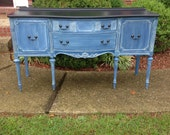 Antique Sideboard, Vintage Buffet, Examples of Our Work, Contact to See Similar in Stock Pieces