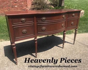 Beautiful Vintage Buffet, Ready for Us to Custom Paint for You