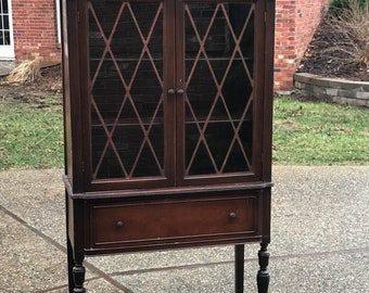 Antique China Cabinet, Ready for us to Custom Paint for your Home