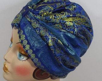 5788e4089185b Paisley turban hat