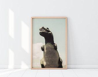 Cabazon T-Rex | Dinosaur Photography Print