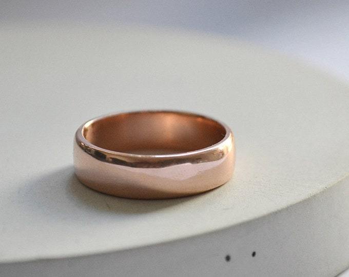 Classic 14k wide band