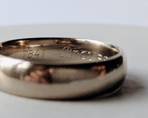 Add-on: Ring engraving