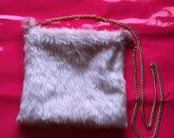 Pastel Pink Shoulder Bag // Kawaii Cyber Cute