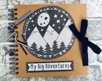 Travel Scrapbook, Photo Album, Birthday Present, Teen Gift, Fresher, Retirement Present, Leaving Gift, Wedding Present, Camping, Wanderlust