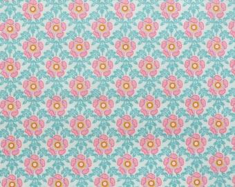 1b9dec9938ed Tessuto Liberty SS19 Tana prato Royal Rose A - 9   x 26   collezione  eccentrici - rosa - ottava inglese di grasso