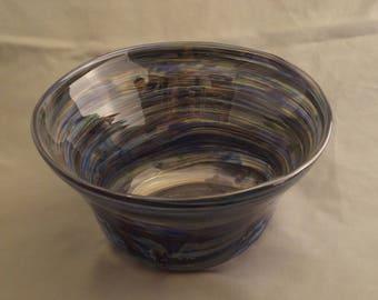 Patchwork Swirl Bowl
