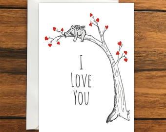 Koala Card Etsy