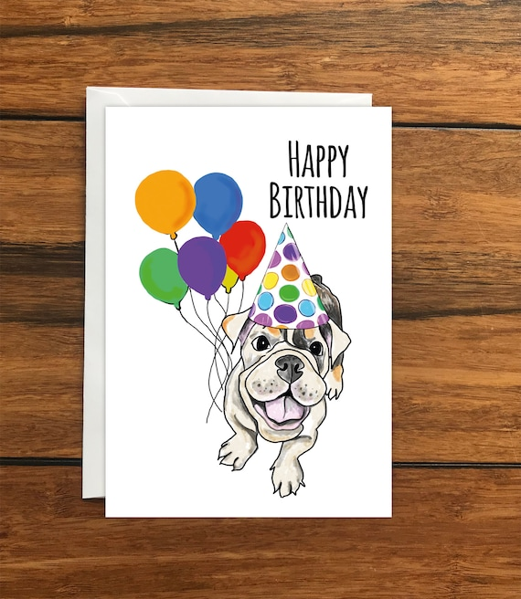 12 Pug Personalised Party Invite A6 Photo