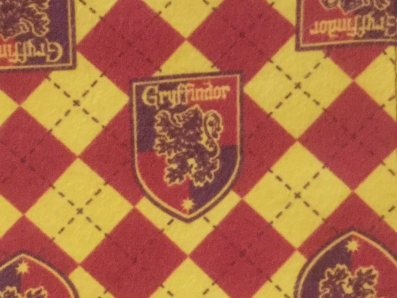 Gryffinder flannel baby blanket Harry Potter baby gift Harry Potter flannel baby blanket Argyle Harry Potter baby blanket