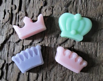 10 Royal Crowns Shea Butter Soap Favor Bag Birthday, Bridal and Baby Shower