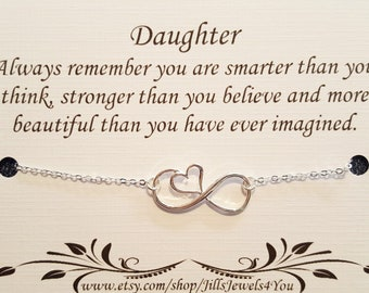 Daughter necklace, To Daughter from Mom, Daughter Inspirational Gift, Birthday gift, Christmas Gift, Best Selling Item, Graduation gift