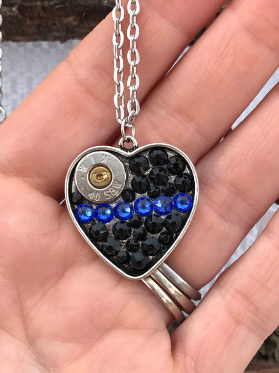 Police Wife Jewelry Gift Set Law Enforcement Necklace Law Enforcement Officer Gift