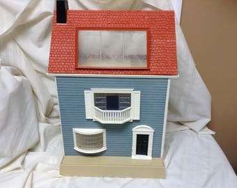 Vintage 1978 Fisher Price Toys Quaker Oats Dollhouse Doll House TownHouse