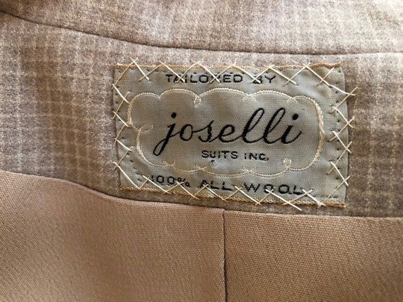 40's Womans Suit Tapered Jacket 2 pc Jacket and S… - image 7