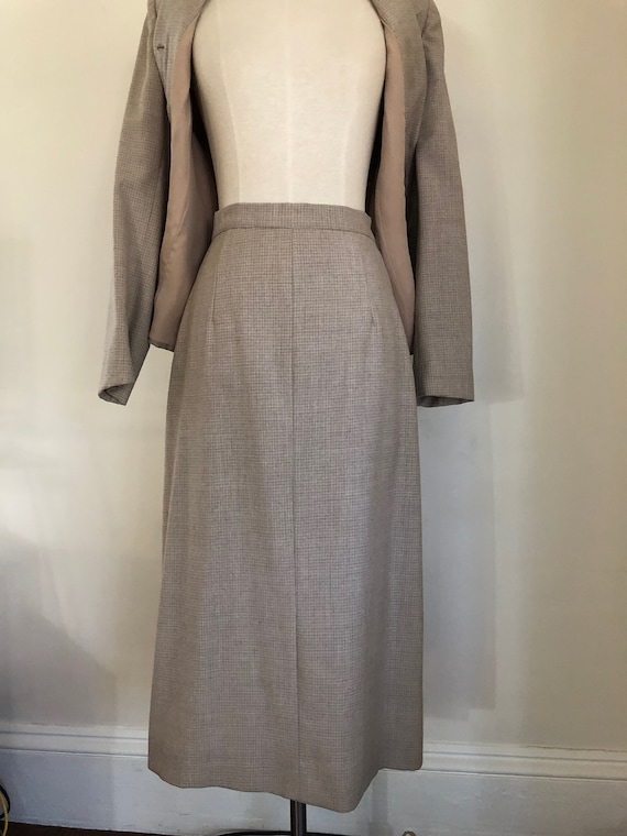 40's Womans Suit Tapered Jacket 2 pc Jacket and S… - image 8