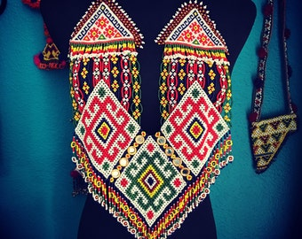 Beaded Kuchi necklace.