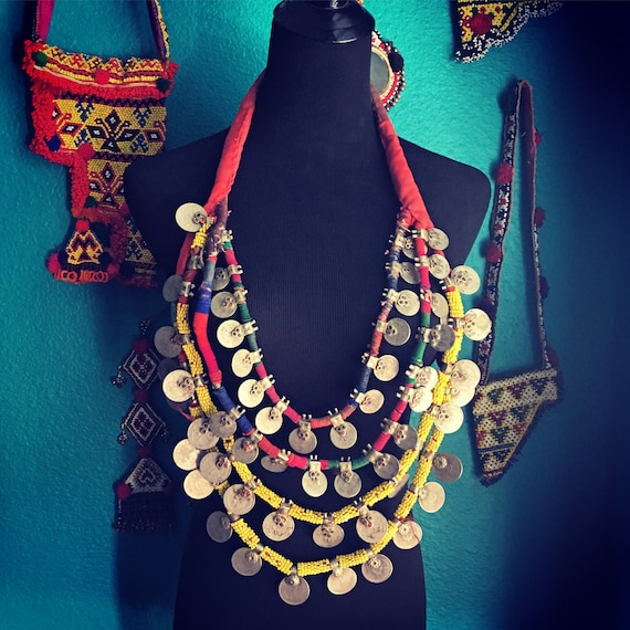 Kuchi coin necklace.