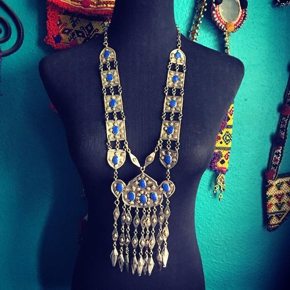 Turkoman statement necklace.