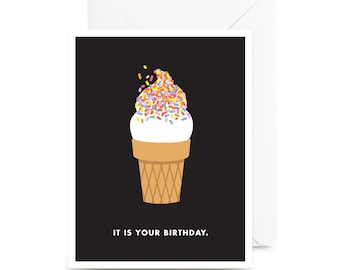 It Is Your Birthday Card | A little ice cream and Dwight Schrute never hurt anyone.