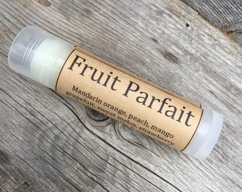 Fruit Parfait Natural Lip Balm