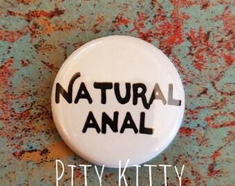 1 inch Button - Natural Anal - Jihoon & Deavan - 90DF inspired