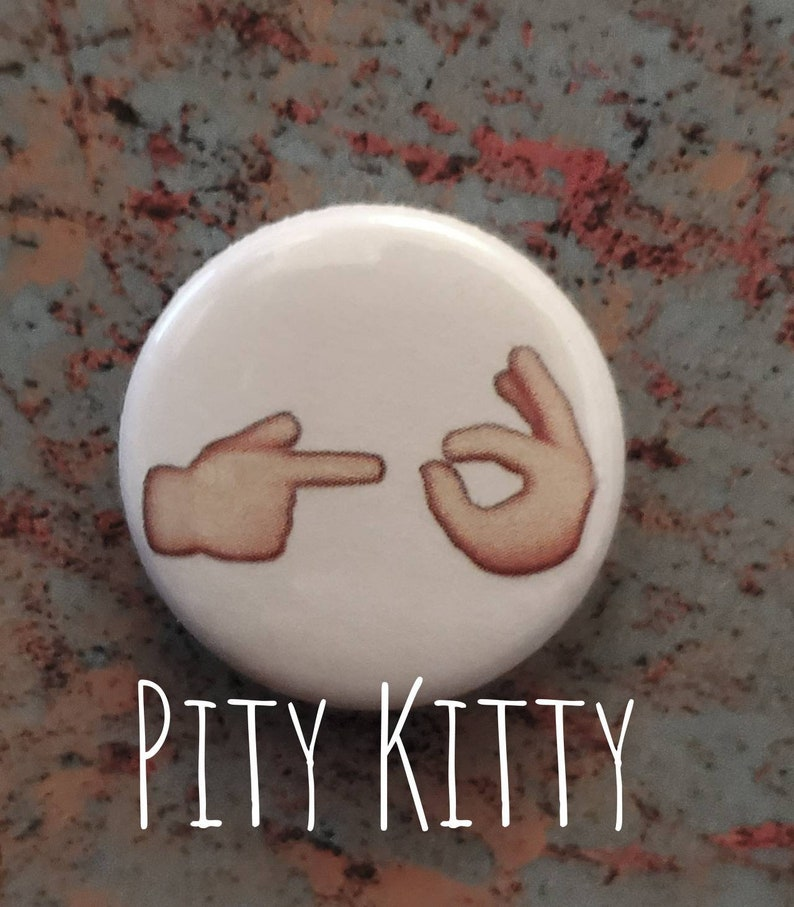 1 inch Button   inchMarry Me inch hand gesture  PolePaul & image 0