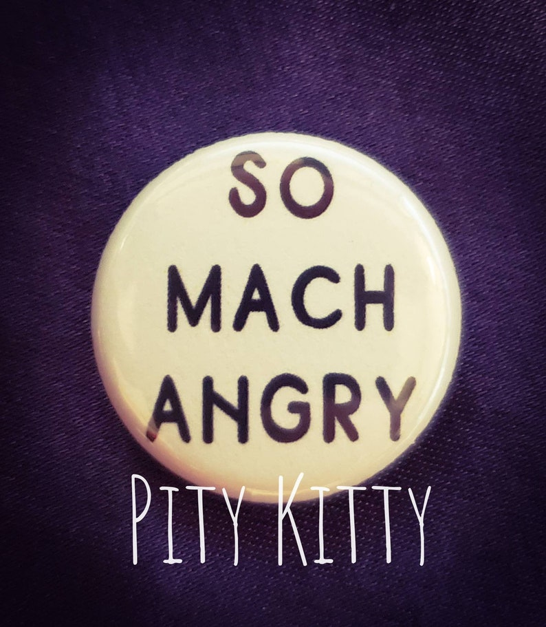 1 Button  So Mach Angry  Rebecca & Zied  90DF image 0