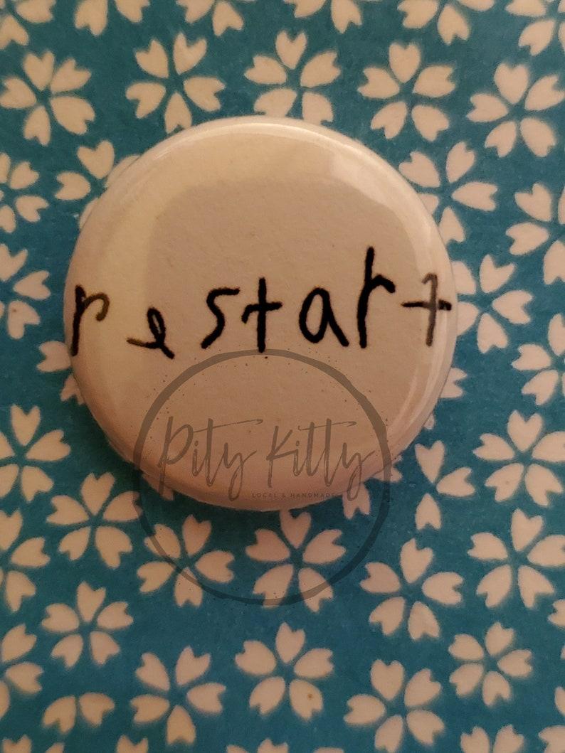1 Button  Restart image 0