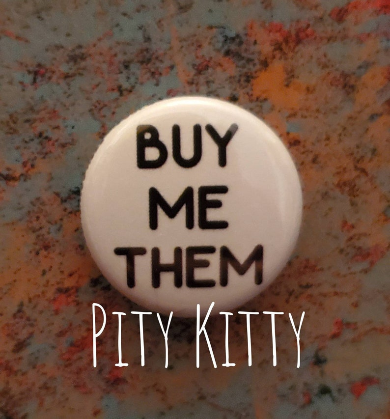 1 inch Button  Buy Me Them  Robert & Annie  90DF inspired image 0
