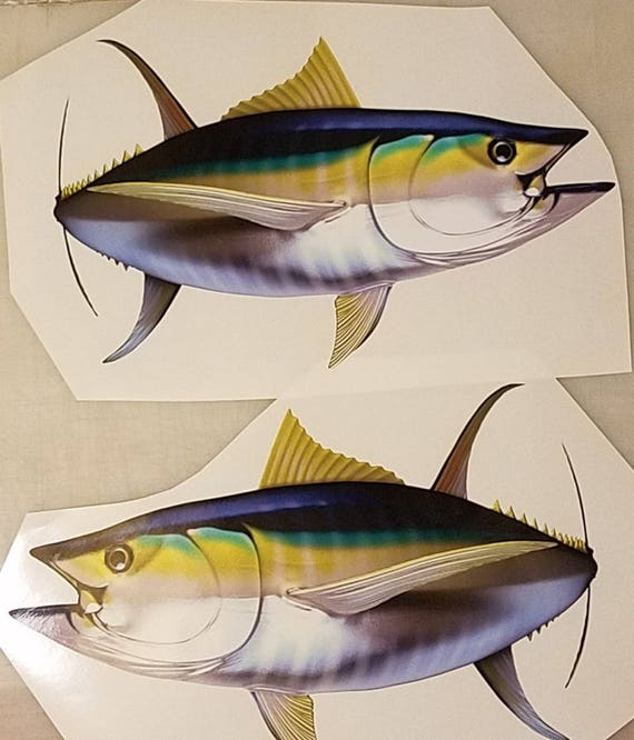 High Resolution Boat Decal Fish Decal