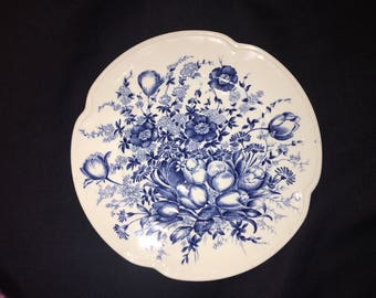 Johnson Bros England Windsor Ware Dover Blue - Dessert Plate