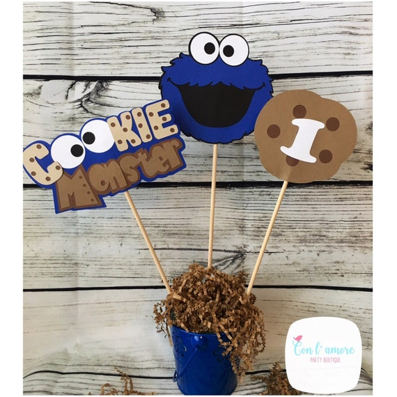 Sesame Street Cookie Monster Birthday Party Decoration