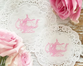 Tea Party Ideas, 10 French Paper Doilies, DIY Tea Party Decor, Tea Party  Decorations, DIY Party Ideas, Easy Tea Party Ideas