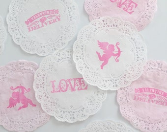 Shabby Chic Wedding Doilies Paper Doilies Diy Vintage Etsy